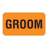 Groom Label, 1-5/8 x 7/8, 560/RL (V-AN284)