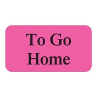 To Go Home Label, 1-5/8 x 7/8, 560/RL (V-AN286)