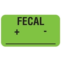 Fecal Label, 1-5/8 x 7/8, 560/RL (V-AN617)