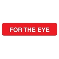 For the Eye Label, 1-5/8 x 3/8, 500/RL (V-AN657)