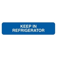 Keep In Refrigerator Label, 1-5/8 x 3/8, 500/RL (V-FP109)
