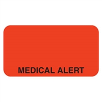 Medical Alert Label, 1-5/8 x 7/8, 560/RL (V-MC218)