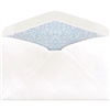 #6-1/4 Regular Envelopes (3-1/2 x 6) 24lb White w/ Security Tint 500/Bx