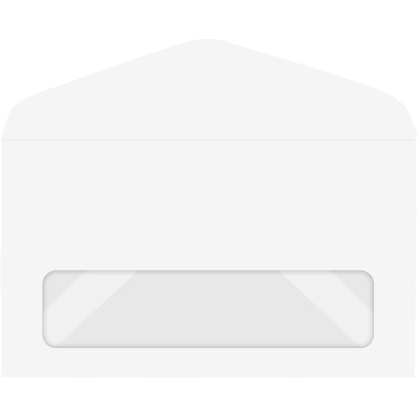 Western Sulphite Window Envelope (No. 6-1/4) 0368 500/Box
