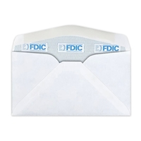 FDIC Security Tint Envelope (No 6-3/4) 0494