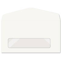 Western Sulphite Window Envelope (No. 7) 1208