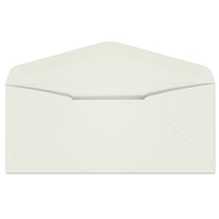 Ultra-White 25% Cotton Regular Envelope (No. 10) 2586