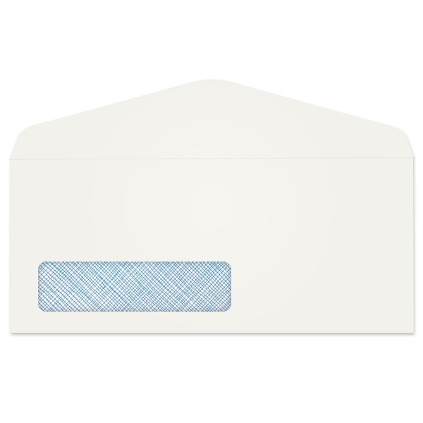 President Crosshatch Window Envelope (No 10) 3037
