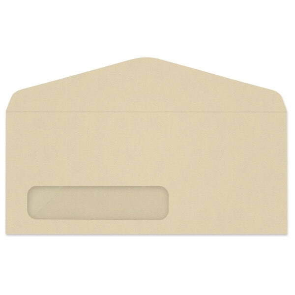 Western Fiber-Added Digi-Clear Window Envelope (No. 10) 3256