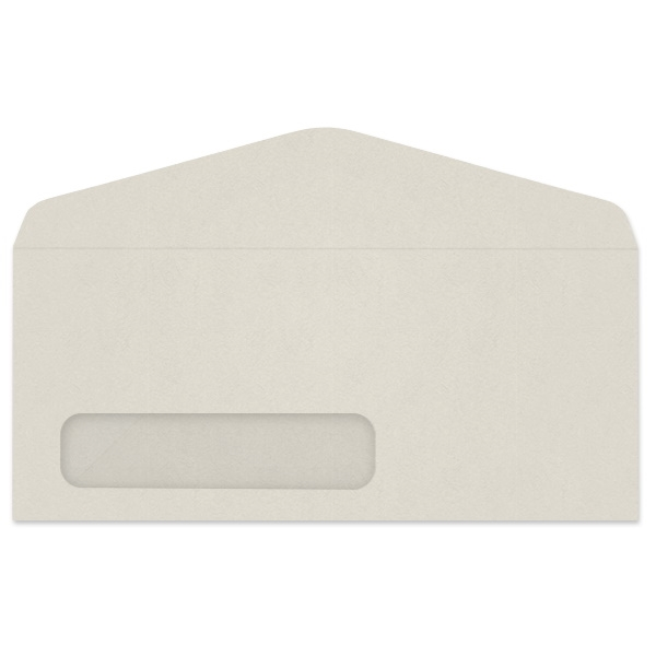 Western Fiber-Added Digi-Clear Window Envelope (No. 10) 3257