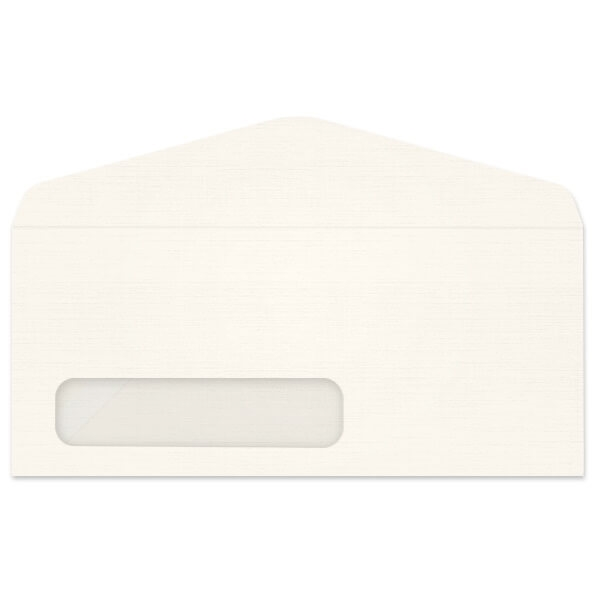 Antique Linen Digi-Clear Window Envelope (No 10) 3269