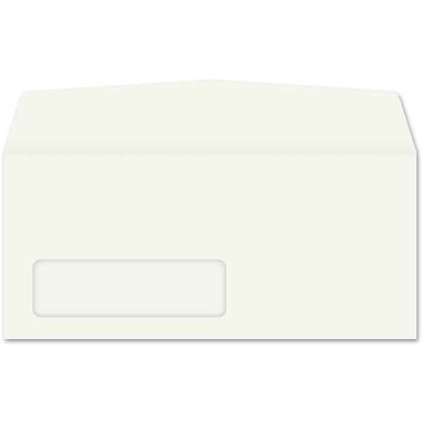 Western Sulphite Side Seam Window Envelope (No. 10-1/2) 3370