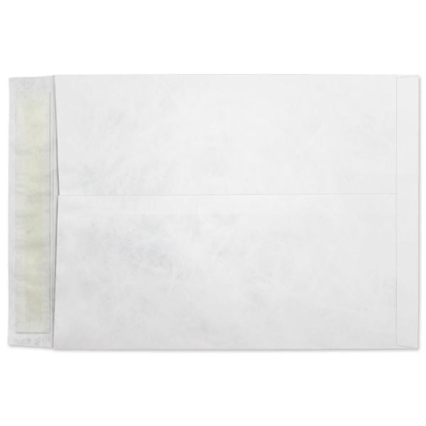 First Class Bright White w Kwik-Tak Peel /& Seal 10 x 13 x 1-1//2 Center Seam Tyvek Expansion Catalog Envelope Moisture Resistant Box of 100 Envelopes Smooth Finish 14 lb