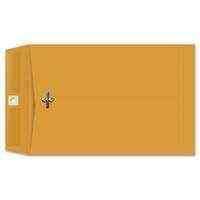 6-1/2 x 9-1/2 Clasp Envelopes 28lb Brown Kraft 100/BX