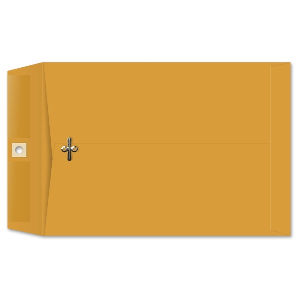7 x 10 Clasp Envelopes 28lb Brown Kraft 100/BX