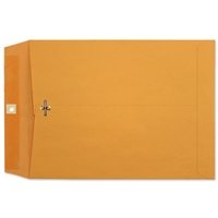 7-1/2 x 10-1/2 Clasp Envelopes 28lb Brown Kraft 100/BX
