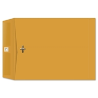 8-3/4 x 11-1/2 Clasp Envelopes 28lb Brown Kraft 100/BX