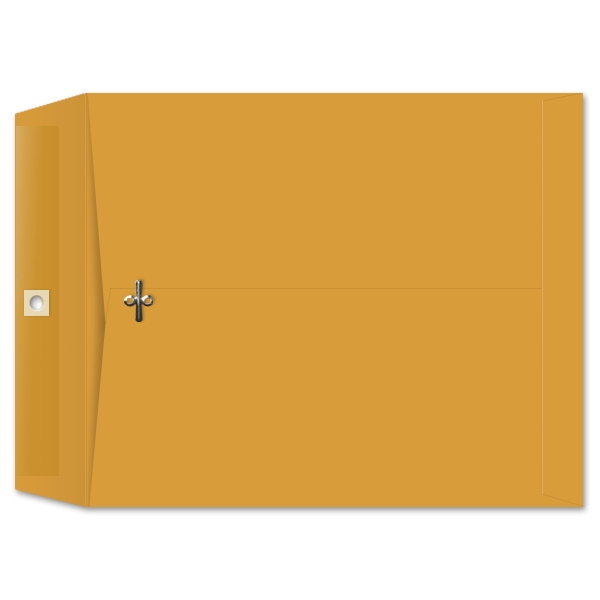10 x 12 Clasp Envelopes 28lb Brown Kraft 100/BX