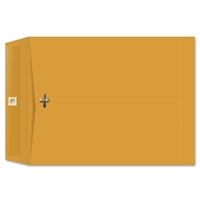 10 x 13 Clasp Envelopes 28lb Brown Kraft 100/BX