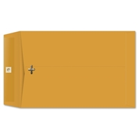 10 x 15 Clasp Envelopes 28lb Brown Kraft 100/BX