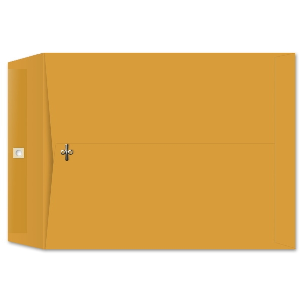 12 x 15-1/2 Clasp Envelopes 28lb Brown Kraft 100/BX