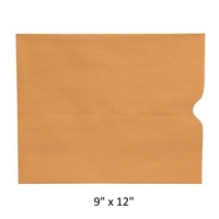 Economy Negative Preserver 9 x 12 Brown Kraft 24lb 500/Box
