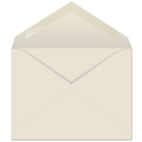 Creme Prism Baronial Envelopes (No. 5-1/2) 6443
