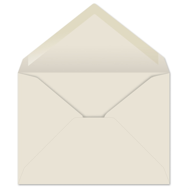 Creme Prism Baronial Envelopes (No. 6) 6458