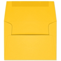 A6 Announcement Envelopes (4-3/4 x 6-1/2) 24lb Yellow 500/BX