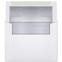 Ultra-White Foil-Lined Announcement Envelope (A-2) 7086