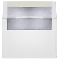 Ultra-White Foil-Lined Announcement Envelope (A-7) 7090