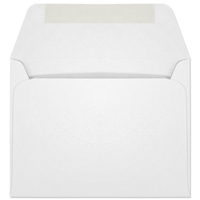 Ultra-White Machine Insertable Announcement Envelope (A-2) 7092