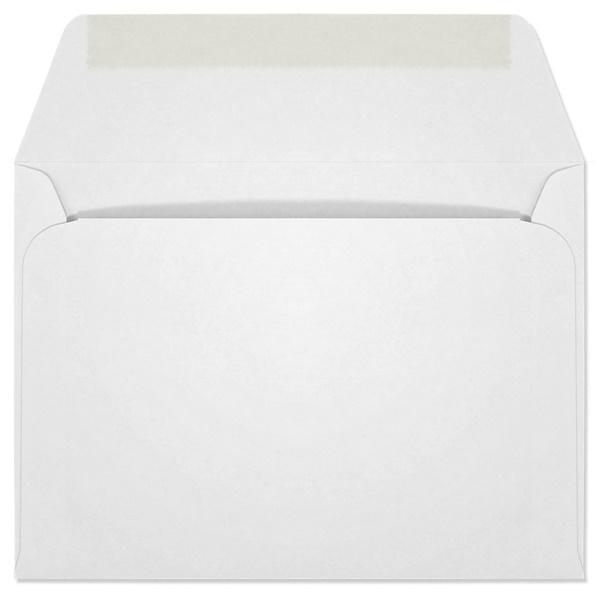 Ultra-White Machine Insertable Announcement Envelope (A-6) 7093