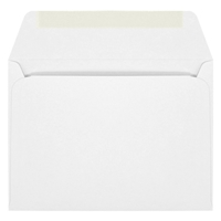 Ultra-White Machine Insertable Announcement Envelope (A-7) 7094