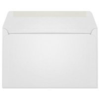 Ultra-White Machine Insertable Announcement Envelope (A-10) 7096