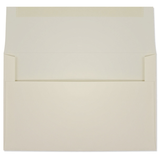 Creme Prism Announcement Envelopes (A-8) 7208