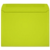 Lime Starburst 9 x 12 Open Side Booklet Envelopes