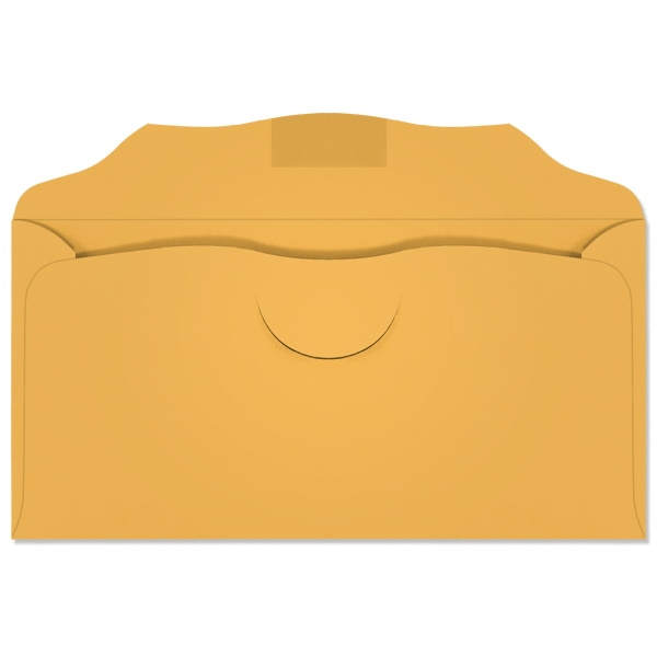 3-1/8 x 6-1/4 Offering Envelopes 20lb Goldenrod 1000/BX