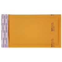 4 x 8 Bubble Mailers, Golden Kraft, Kwik-Tak, 500/BX (W7665)