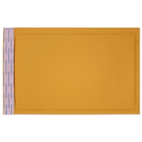 7-1/4 x 12 Bubble Mailers, Golden Kraft, Kwik-Tak, 100/BX (W7668)