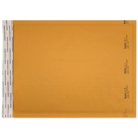 8-1/2 x 12 Bubble Mailers, Golden Kraft, Kwik-Tak, 100/BX (W7669)