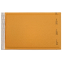 8-1/2 x 14-1/2 Bubble Mailers, Golden Kraft, Kwik-Tak, 100/BX (W7670)