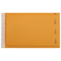 9-1/2 x 14-1/2 Bubble Mailers, Golden Kraft, Kwik-Tak, 100/BX (W7671)