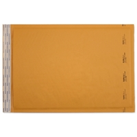 10-1/2 x 16 Bubble Mailers, Golden Kraft, Kwik-Tak, 100/BX (W7672)