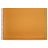 12-1/2 x 19 Bubble Mailers, Golden Kraft, Kwik-Tak, 50/BX (W7673)