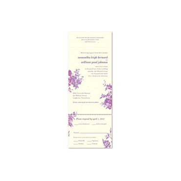 Plantable Paper Invitations ~ My Love Rosie (Seeded paper)