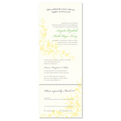 Natural Wedding Invitations | Summer Dance (100% recycled paper)