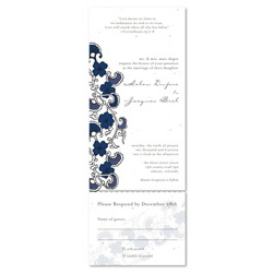 Plantable Wedding Invitations - Japanese Beauty