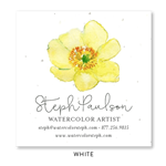 Seeded Flower Business Cards | Primrose
