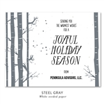 Winter Holiday Cards | Birch Tree